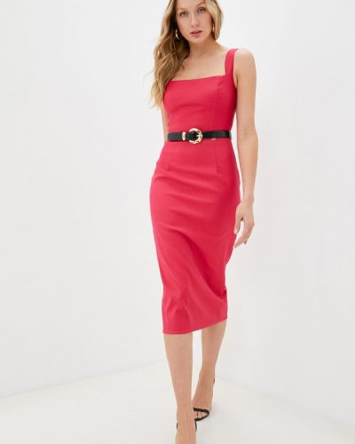 Розовое платье-футляр Rich & Naked