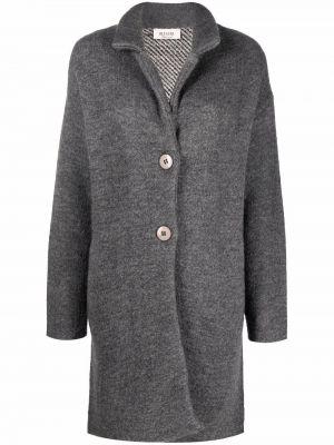 Длинное пальто - серое Blugirl