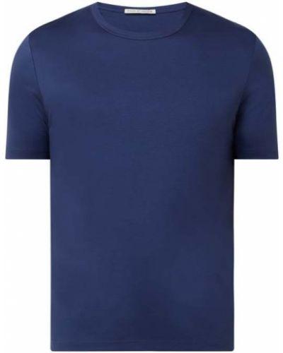 Niebieski t-shirt bawełniany Tiger Of Sweden