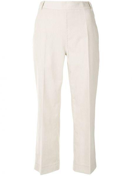 Хлопковые укороченные брюки с поясом свободного кроя с низкой посадкой Sofie D'hoore