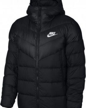 Куртка с капюшоном черная спортивная Nike