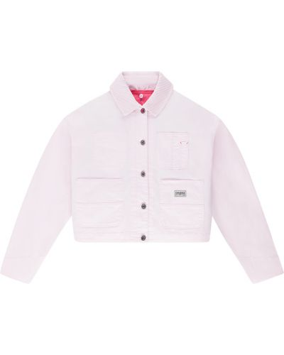 Куртка оверсайз - розовая Converse
