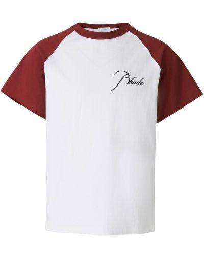 Biała t-shirt Rhude