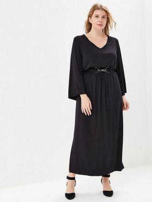 Вечернее платье осеннее черное Артесса