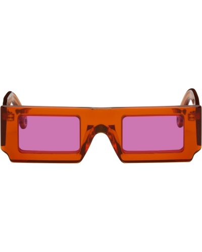 Okulary srebrne - różowe Jacquemus