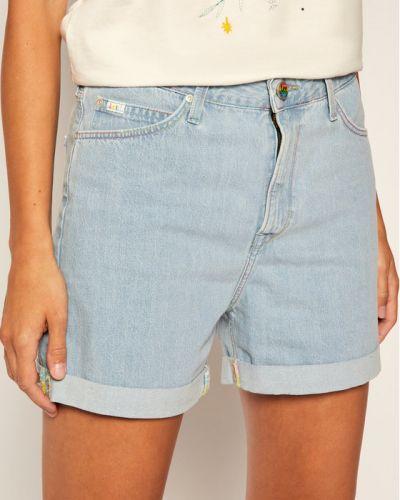 Szorty jeansowe - niebieskie Lee