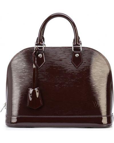 Красная сумка винтажная Louis Vuitton