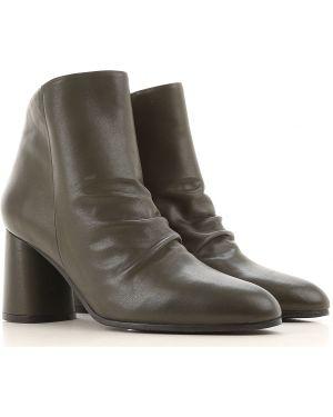 Buty na obcasie na pięcie jesienne Elvio Zanon