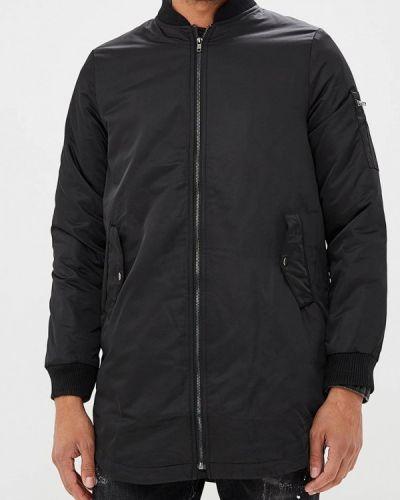 Утепленная куртка демисезонная черная Sweewe