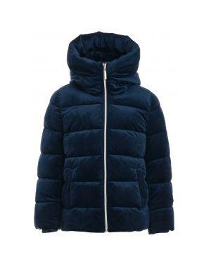 Зимняя куртка с капюшоном джинсовая Gulliver Wear