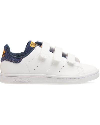 Белые резиновые кроссовки Adidas Originals