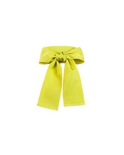 Хлопковый зеленый ремень с поясом Sara Roka