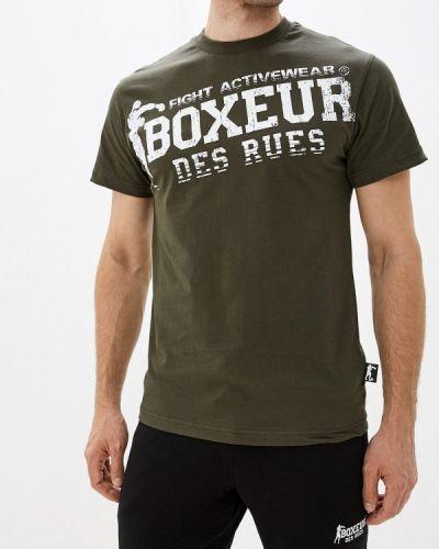 Футболка хаки Boxeur Des Rues