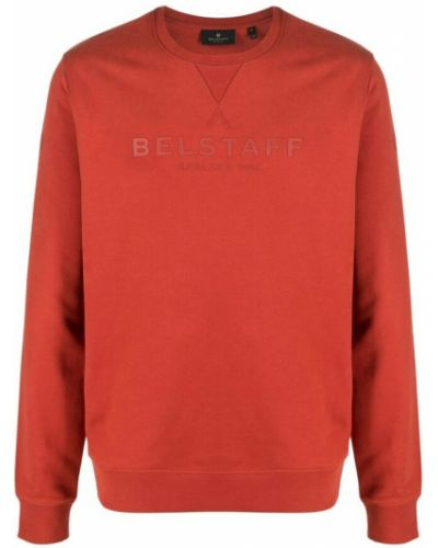 Czerwona bluza dresowa Belstaff