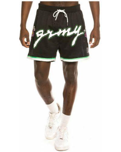 Czarne szorty Grimey