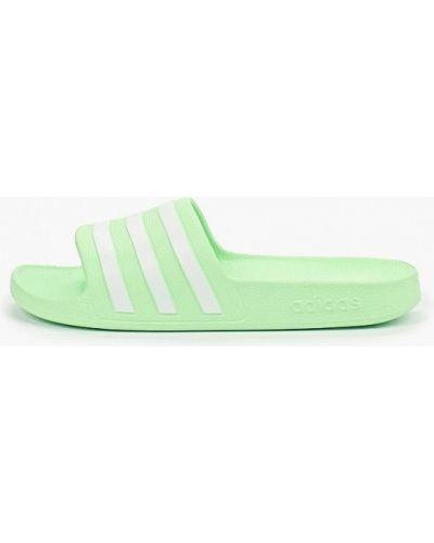 Сланцы зеленый Adidas