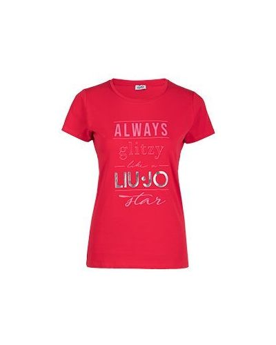 Красная футболка Liu Jo