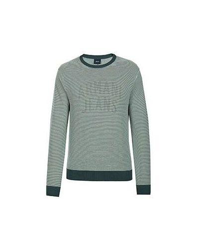 Зеленый свитер Armani Jeans