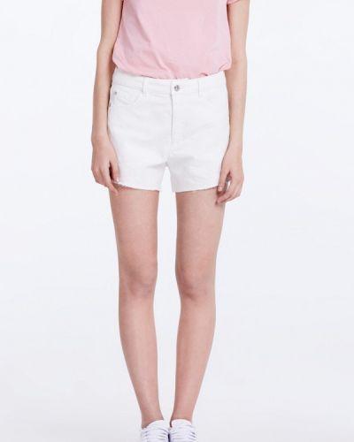 Белые джинсовые шорты Musthave