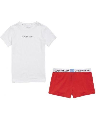 Piżama elegancka Calvin Klein