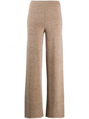 Свободные кашемировые брюки с поясом свободного кроя Gentry Portofino