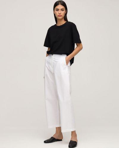 Białe spodnie bawełniane Ciao Lucia