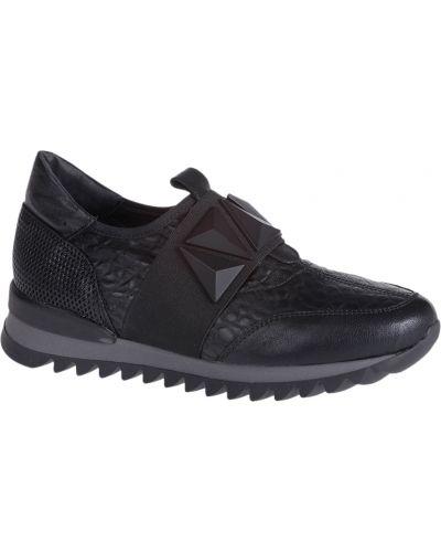 Кожаные кроссовки - черные Laura Bellariva