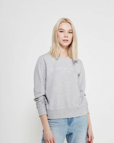Серые джинсы Calvin Klein Jeans