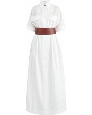 Платье мини макси на пуговицах Brunello Cucinelli