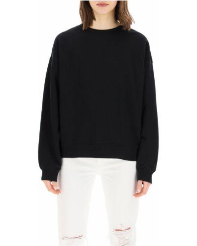 Czarna bluza dresowa Agolde