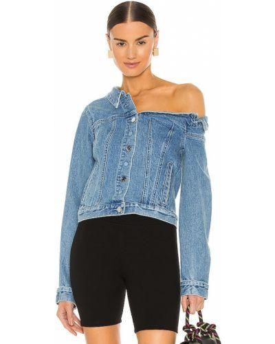 Хлопковая ватная синяя джинсовая куртка Rta