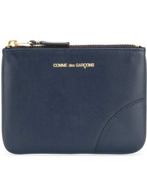 Portfel skórzany mało ciemnoniebieski Comme Des Garçons Wallet