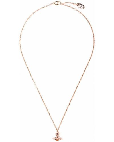 Wisiorka ze złota złoto z ozdobnym wykończeniem Vivienne Westwood