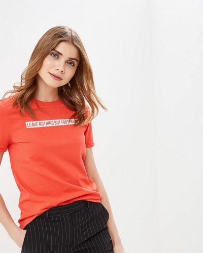 Красная футболка 2019 Only