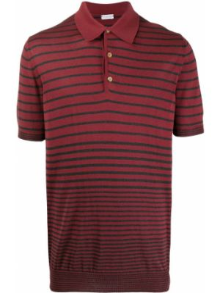 Koszula krótkie z krótkim rękawem z paskami w paski Caruso