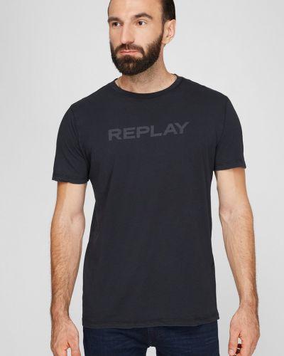 Футболка - черная Replay