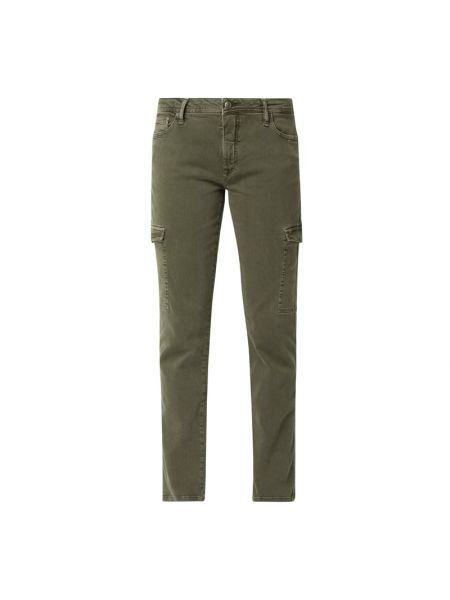 Spodnie bawełniane - zielone Lieblingsstück