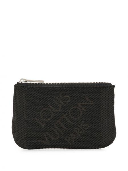 Portfel srebrny - czarny Louis Vuitton