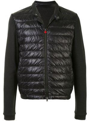 Стеганая куртка - черная Kiton