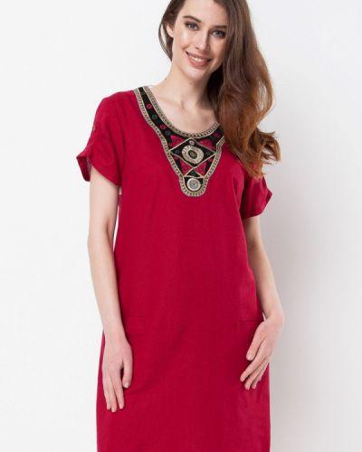 Платье весеннее красный Ruta-s