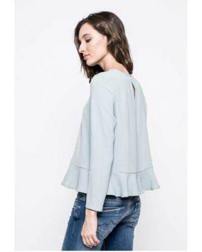 Блузка прямая мятного цвета Review