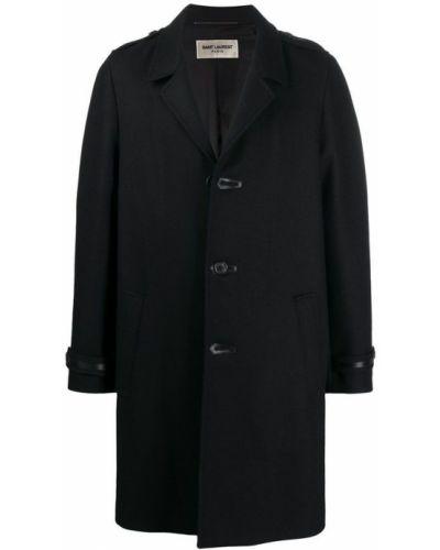 Płaszcz na przyciskach od płaszcza przeciwdeszczowego z kieszeniami Saint Laurent