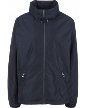 Синяя облегченная куртка с капюшоном Tom Tailor