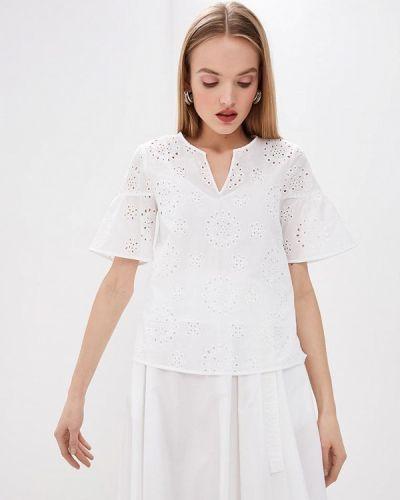 Блузка с коротким рукавом белая весенний Pennyblack