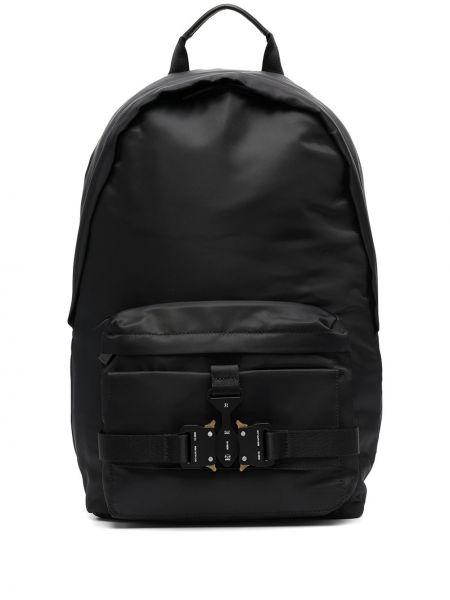 Czarny plecak skórzany klamry 1017 Alyx 9sm