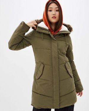 Теплая желтая куртка Roxy