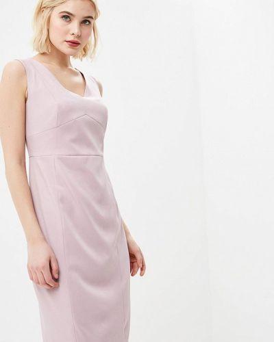 Розовое платье футляр Lusio