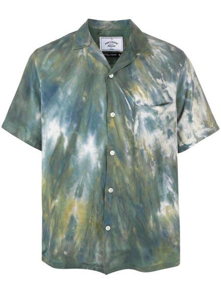Прямая фланелевая рубашка с короткими рукавами с воротником с заплатками Portuguese Flannel