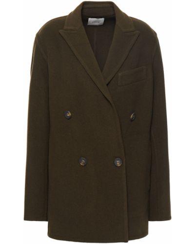 Армейская зеленая куртка двубортная Vince