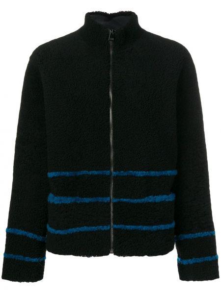 Черная свободная куртка свободного кроя на молнии Inès & Maréchal